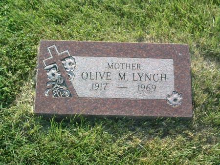 LYNCH, OLIVE M. - Mills County, Iowa | OLIVE M. LYNCH