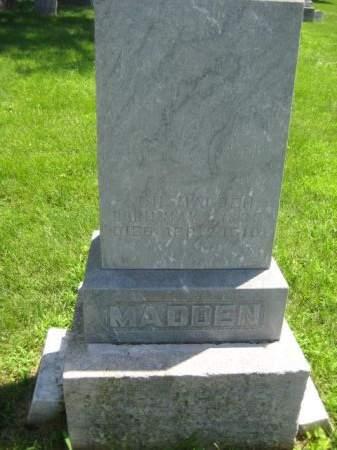 MADDEN, J. H. - Mills County, Iowa   J. H. MADDEN