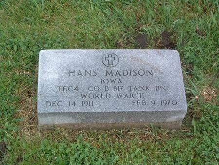 MADISON, HANS - Mills County, Iowa | HANS MADISON