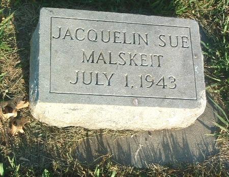 MALSKEIT, JACQUELIN SUE - Mills County, Iowa   JACQUELIN SUE MALSKEIT