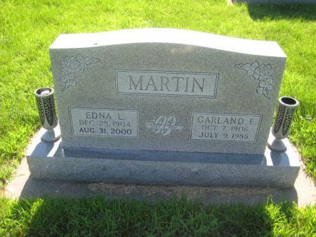 MARTIN, GARLAND E. - Mills County, Iowa   GARLAND E. MARTIN