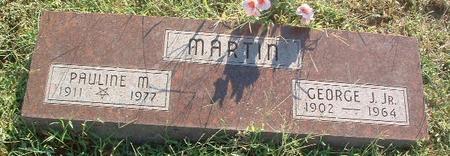 MARTIN, PAULINE M - Mills County, Iowa | PAULINE M MARTIN