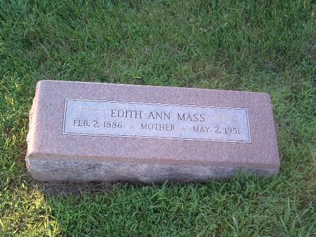 MASS, EDITH ANN - Mills County, Iowa | EDITH ANN MASS