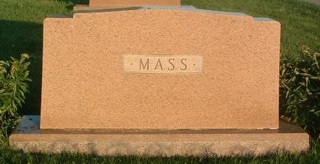 MASS, FAMILY HEADSTONE - Mills County, Iowa | FAMILY HEADSTONE MASS