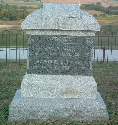 MASS, KATHERINE D. - Mills County, Iowa | KATHERINE D. MASS