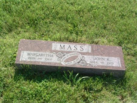 MASS, JOHN K. - Mills County, Iowa | JOHN K. MASS