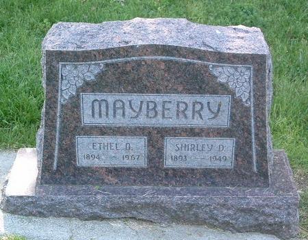 MAYBERRY, ETHEL O. - Mills County, Iowa   ETHEL O. MAYBERRY