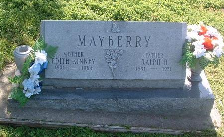 MAYBERRY, RALPH H. - Mills County, Iowa | RALPH H. MAYBERRY
