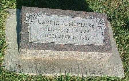 MCCLURE, CARRIE A. - Mills County, Iowa | CARRIE A. MCCLURE