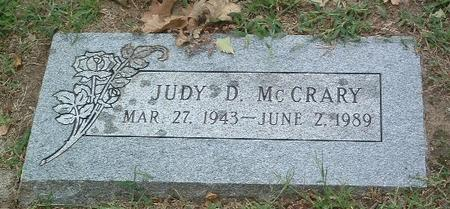 MCCREARY, JUDY D. - Mills County, Iowa | JUDY D. MCCREARY
