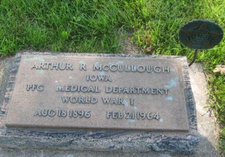 MCCULLOUGH, ARTHUR R. - Mills County, Iowa | ARTHUR R. MCCULLOUGH