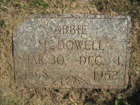 MCDOWELL, ABBIE - Mills County, Iowa   ABBIE MCDOWELL