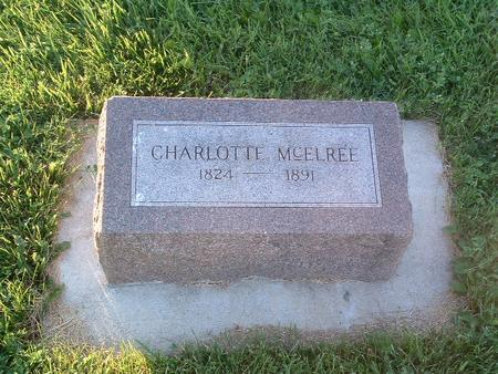 MCELREE, CHARLOTTE - Mills County, Iowa | CHARLOTTE MCELREE