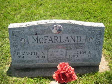 MCFARLAND, ELIZABETH - Mills County, Iowa   ELIZABETH MCFARLAND