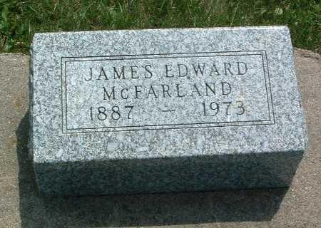 MCFARLAND, JAMES EDWARD - Mills County, Iowa   JAMES EDWARD MCFARLAND