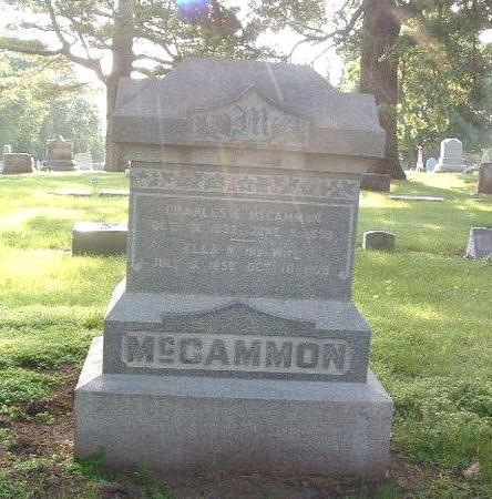 MCCAMMON, ELLA - Mills County, Iowa | ELLA MCCAMMON
