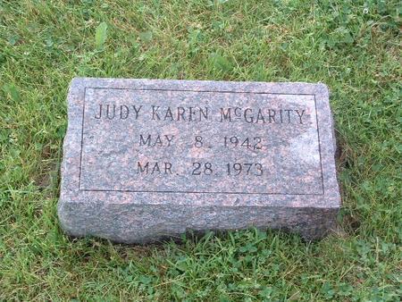 MCGARITY, JUDY KAREN - Mills County, Iowa | JUDY KAREN MCGARITY