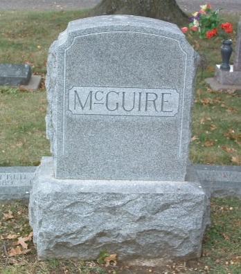 MCGUIRE, FAMILY HEADSTONE - Mills County, Iowa | FAMILY HEADSTONE MCGUIRE