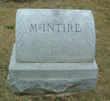 MCINTIRE, FAMILY HEADSTONE - Mills County, Iowa | FAMILY HEADSTONE MCINTIRE