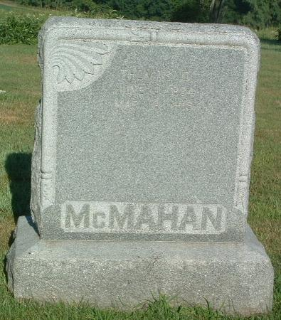 MCMAHAN, THOMAS D. - Mills County, Iowa | THOMAS D. MCMAHAN
