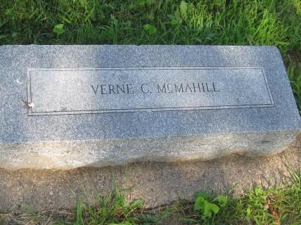 MCMAHILL, VERNE - Mills County, Iowa   VERNE MCMAHILL