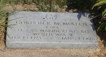 MCMULLEN, GORDON R. - Mills County, Iowa | GORDON R. MCMULLEN