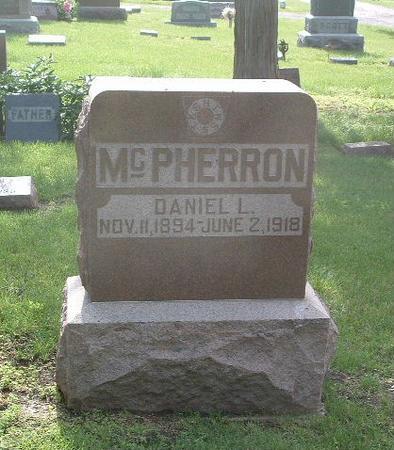 MCPHERRON, DANIEL L. - Mills County, Iowa   DANIEL L. MCPHERRON