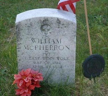 MCPHERRON, WILLIAM - Mills County, Iowa | WILLIAM MCPHERRON