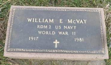 MCVAY, WILLIAM E. - Mills County, Iowa | WILLIAM E. MCVAY