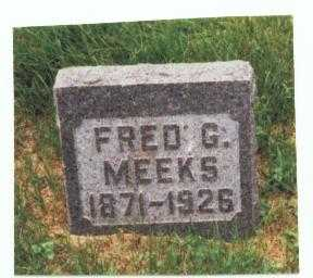 MEEKS, FRED G. - Mills County, Iowa   FRED G. MEEKS