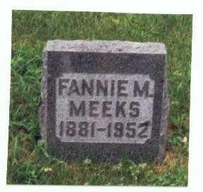 SCHRODER MEEKS, FANNIE M. - Mills County, Iowa | FANNIE M. SCHRODER MEEKS