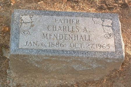 MENDENHALL, CHARLES A. - Mills County, Iowa | CHARLES A. MENDENHALL