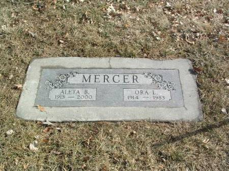 MERCER, ALETA B. - Mills County, Iowa | ALETA B. MERCER