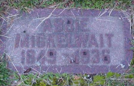 MICKELWAIT, ABBIE - Mills County, Iowa   ABBIE MICKELWAIT