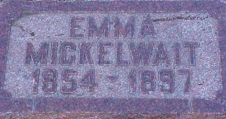 SHAMBLIN MICKELWAIT, EMMA - Mills County, Iowa | EMMA SHAMBLIN MICKELWAIT