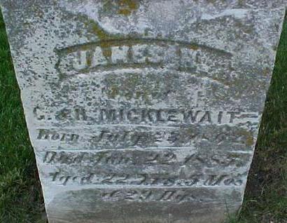 MICKELWAIT, JAMES H - Mills County, Iowa | JAMES H MICKELWAIT