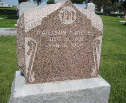 MILIE, HARTSON I. - Mills County, Iowa | HARTSON I. MILIE