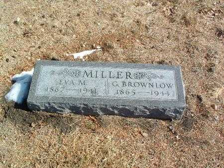 MILLER, G. BROWNLOW - Mills County, Iowa | G. BROWNLOW MILLER
