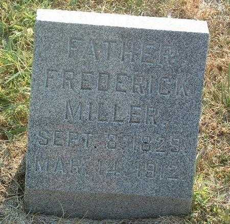MILLER, FREDERICK - Mills County, Iowa | FREDERICK MILLER