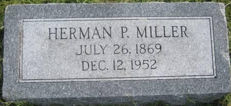 MILLER, HERMAN P. - Mills County, Iowa   HERMAN P. MILLER