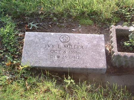 MILLER, IVY L. - Mills County, Iowa | IVY L. MILLER