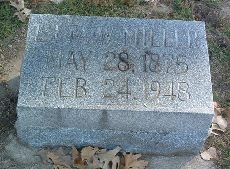 MILLER, LITA W. - Mills County, Iowa | LITA W. MILLER