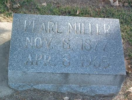 MILLER, PEARL - Mills County, Iowa | PEARL MILLER