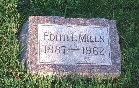 MILLS, EDITH L. - Mills County, Iowa | EDITH L. MILLS