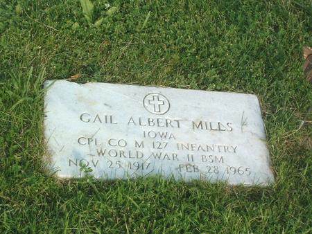MILLS, GAIL - Mills County, Iowa   GAIL MILLS