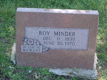 MINDER, ROY - Mills County, Iowa   ROY MINDER