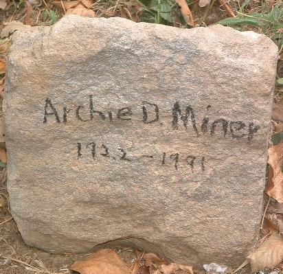 MINER, ARCHIE D. - Mills County, Iowa | ARCHIE D. MINER