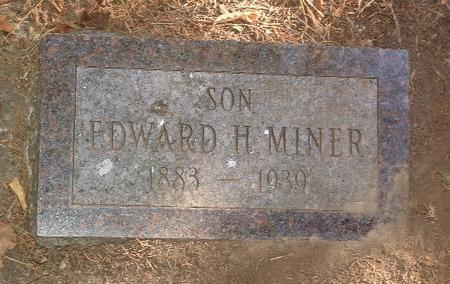MINER, EDWARD H. - Mills County, Iowa | EDWARD H. MINER