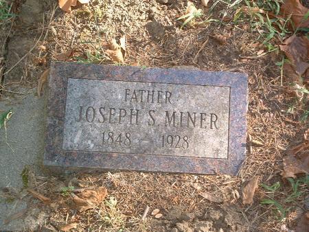 MINER, JOSEPH S. - Mills County, Iowa | JOSEPH S. MINER