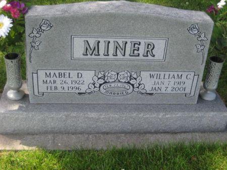 MINER, WILLIAM C. - Mills County, Iowa | WILLIAM C. MINER